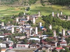 Postcard of koshki in Svaneti
