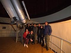 Seeing Jupiter at the Abastumani Astrophysical Observatory!