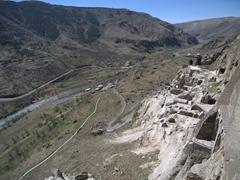 Vista of 12th century Vardzia