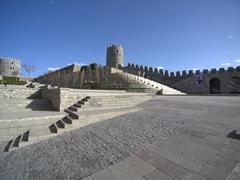 Courtyard of Rabati Fortress