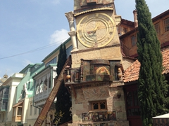 Tbilisi's funky clock tower