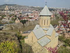 St Nicholas church at Narikala Fortress