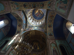 Interior dome; Tbilisi church