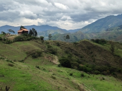 One of many great views we encountered during an 'easy' hike around Vilcabamba