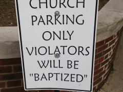 Careful when choosing your parking spot; Alexandria, VA
