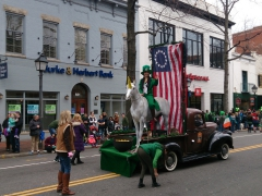 There was even a unicorn in the St Patrick's Day parade, Alexandria, VA