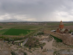 Panorama of Khor Virap