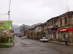 Crap weather in Goris, but we made the best of it