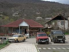 Parking lot for Goshavank Monastery
