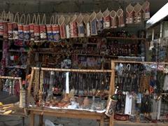 Souvenirs for sale near Goshavank Monastery