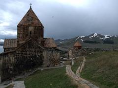 Beautiful Sevanavank Monastery