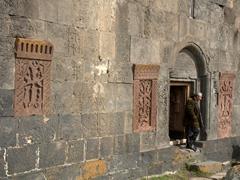 Entrance to Hayravank Monastery