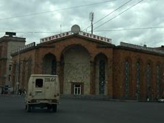 Old Soviet era cinema; Yerevan