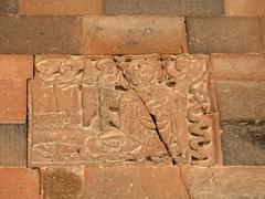 Carving of St Gregory curing King Trdat III; Khor Virap