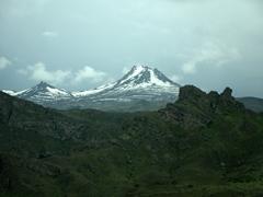 Stunning mountain scenery - a common sight in Armenia