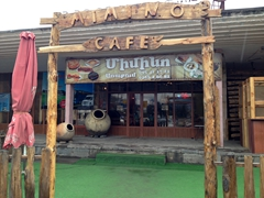 Cafe Minimo, a budget eatery in Dilijan