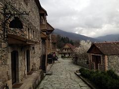 Sharambeyan Street, the Dilijan Historic Center