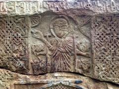 Khachkar detail; Noravank