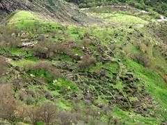 The old abandoned village of Halidzor