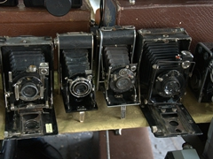 Antique cameras; Vernissage Market