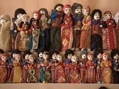 Colorful Armenian dolls
