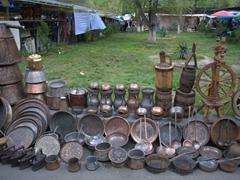 Antiques for sale; Vernissage Market