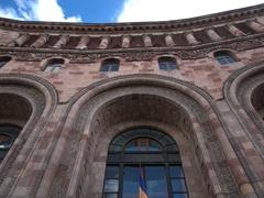 Exterior view of Yerevan's post office