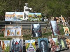 Art work for sale near the Cascades